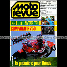 MOTO REVUE N°2661 YAMAHA TRI Z 250XJ 750 SUZUKI GSX ISTANBUL DJERBA 500 1984