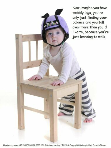 Lilac Thudguard Baby Protective Safety Helmet for Toddlers Learning to Walk