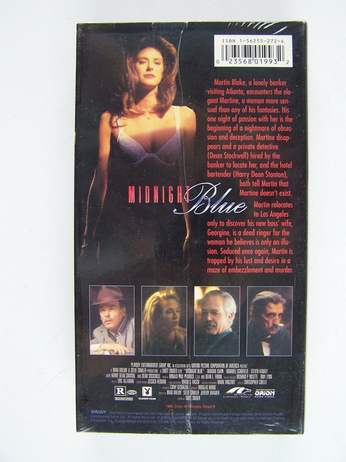 Midnight Blue VHS Video Tape PROMO Screener