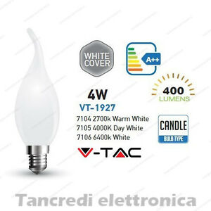 Lampadina-led-V-TAC-4W-E14-VT-1927-a-fiamma-cover-bianca-filamento-lampada-opaca
