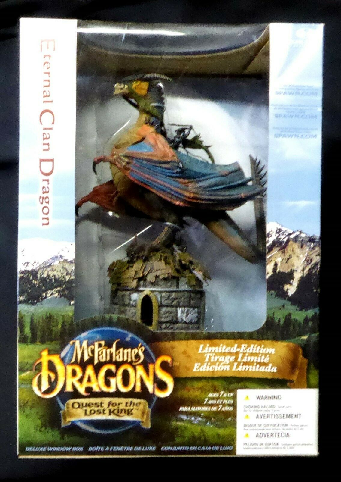 Eternal Dragon Box Set NUEVO Dragones Serie 2 perdido Rey McFarlane Amricons