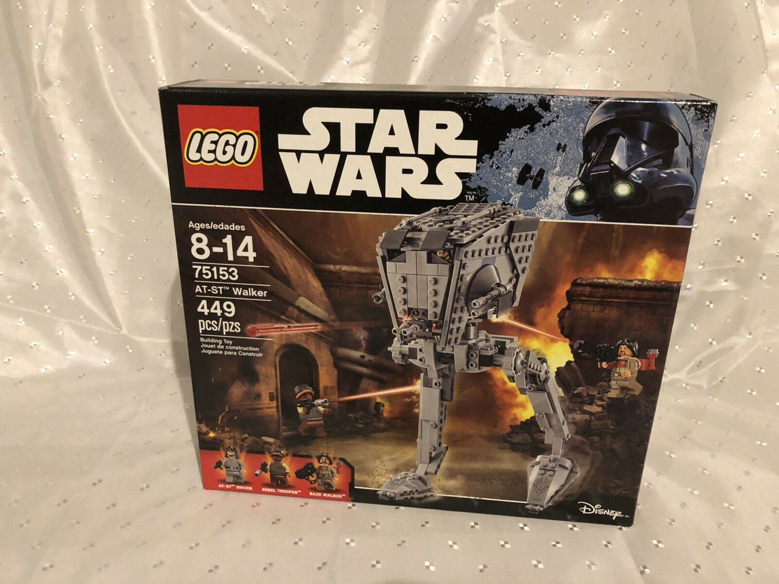 LEGO Star Wars AT-ST Walker (75153) - New and Sealed