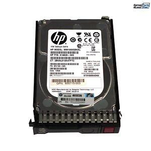 656108-001-SC HP G8 G9 1-TB 6G 7.2K 2.5 SATA SC Certified Refurbished