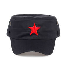 Russian Army Officer Cap Hat Star Soldier Fancy Dress Military Costume Elite NEW