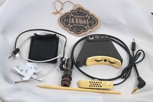 Gitarren Pickup Mikro LR Baggs Anthem Akustik System incl