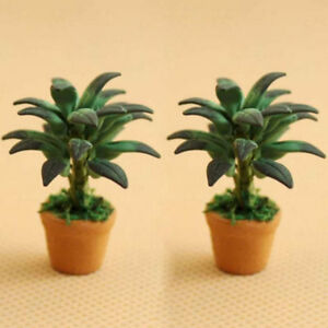 1-12-Dollhouse-Miniatures-Green-Plant-in-Pot-Potted-Tree-Mini-Plants-Home-Decor