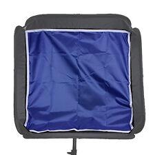 "60cm 24"" Softbox Backdrops Backgroud Cloth Flash Speedlight Light Diffuser Blue"