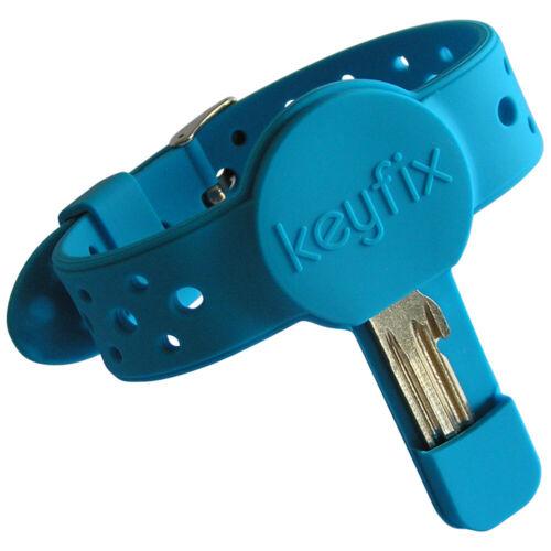 """Armband für Schlüssel keyfix Schlüsselarmband /""""XL/"""" Laufen Schwimmen Fitness"""
