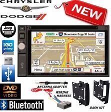 2009-2012 DODGE RAM Jensen Navigation Double Din DVD Radio Stereo bluetooth bt