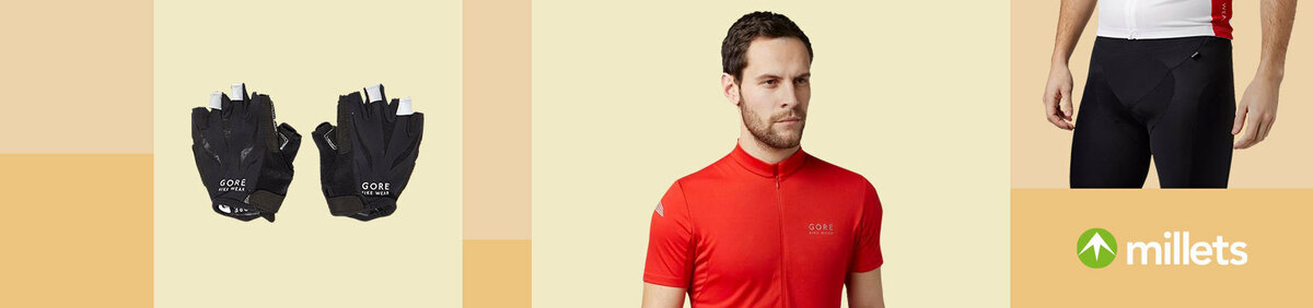 Shop event 25% off All Gore Bikewear From the official Millets Outdoor eBay store.