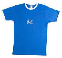 Retro Birmingham 1970s Football T Shirt Sizes S-xxl Embroidered Logo