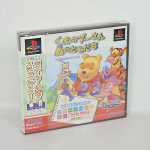 PS1-Kuma-no-Pooh-San-MORI-NO-TOMODACHI-Unused-Playstation-1123-p1
