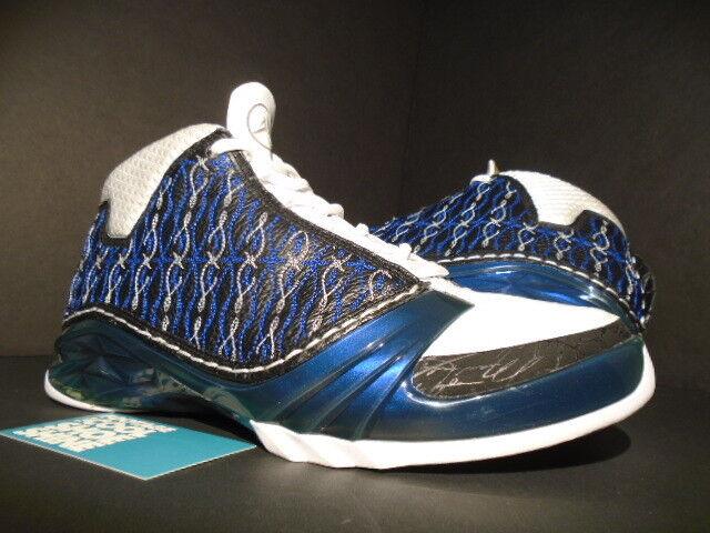 Nike Air Jordan XX3 XXIII 23 WIZARDS WIZARDS WIZARDS MOTORSPORTS noir Bleu blanc 318376-011 8.5 b8cd6c