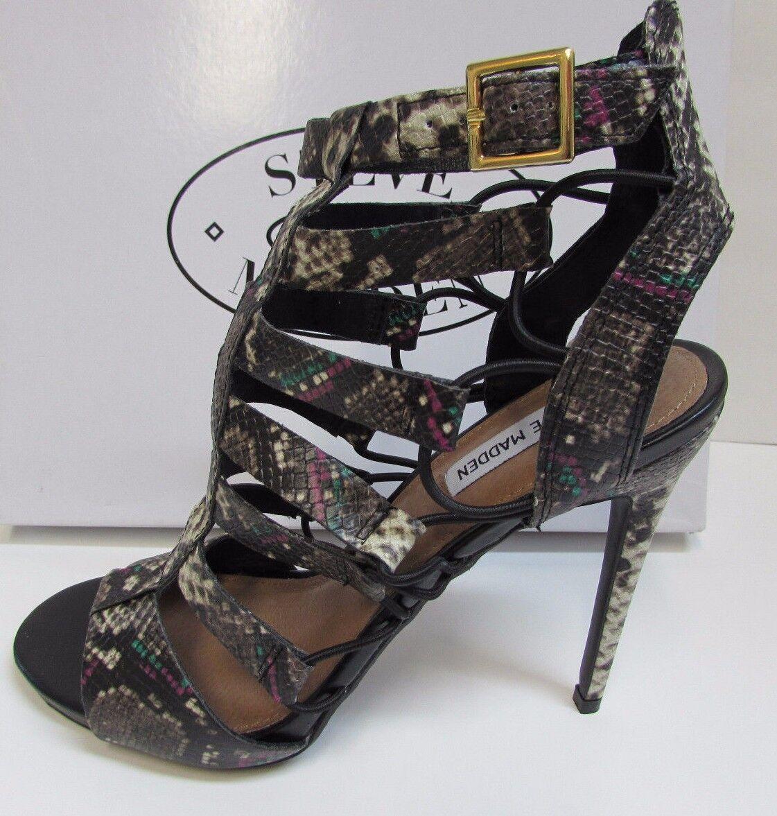 Steve Madden Size 7.5  Snake Heels  New Womens shoes