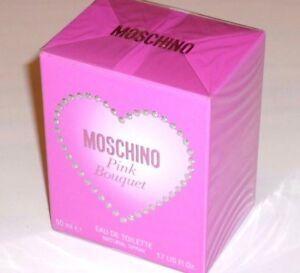 MOSCHINO-PINK-BOUQUET-Eau-de-Toilette-natural-spray-50-ml-NEU-OVP-in-Folie-EdT