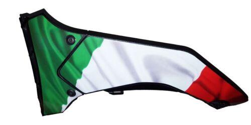 Aprilia Tuono V4 1100 Factory custom Italian flag belly pan graphics decals  set
