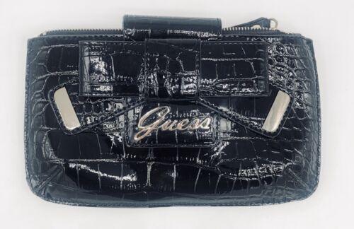 EUC Guess Lulin Mini Clutch purse bag black