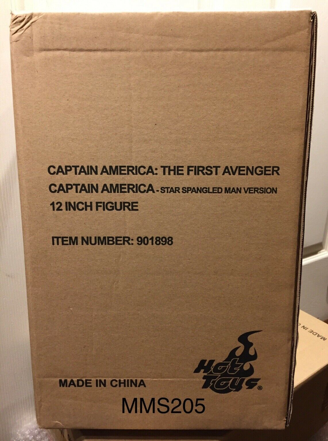 heta leksaker MMS 205 Captain America stjärna Spangled Man 1  6 skala NY US Seller