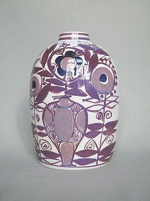 Vase Aluminia Denmark Kari Christensen 70er Seventies