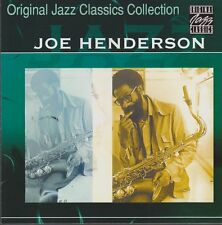 Joe Henderson Original Jazz Classic Collection (Without A Song) 1998 ZYX CD