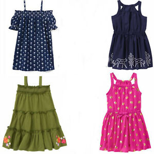 NWT Gymboree Sunny Adventure Girls Tropical Flower Floral Dress Size 4t