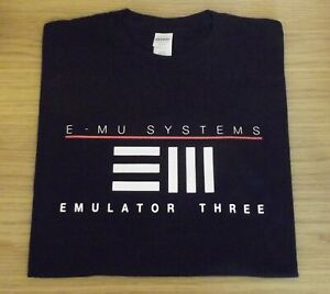 RETRO-SYNTH-T-SHIRT-SYNTHESIZER-SAMPLER-DESIGN-EMU-EMULATOR-3-S-M-L-XL-XXL