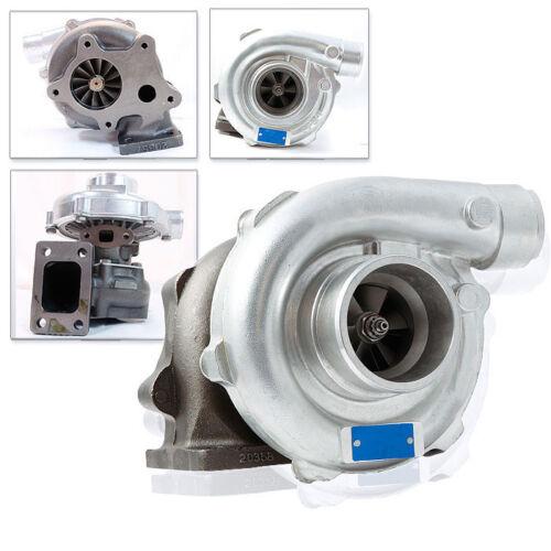 Universal T3//T4 T04E Hybrid Turbo Charger 57 AR Exhaust Trim T3 Flange 2.5/'/' DP