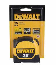 """NEW DEWALT DWHT36107  1 1//8/"""" X 25/' STEEL  HEAVY DUTY TAPE MEASURE TOOL 0478321"""