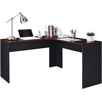 Desk Corner L Shaped Computer Table Home Office Furniture Workstation