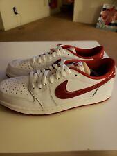 a55b21e0c89 item 8 Nike Air Jordan Retro 1 OG Low sz 10 White Varsity Red New in Box -Nike  Air Jordan Retro 1 OG Low sz 10 White Varsity Red New in Box