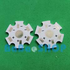 50pcs 1W Aluminum Star PCB 20mm High Power LED Lamp Light Spotlight 1x1W 1x3W