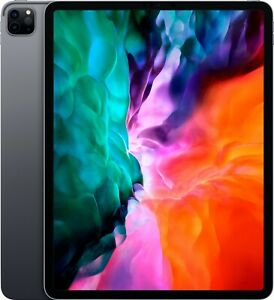 "NEW Apple iPad Pro 12.9"" 4th Gen 256GB,Wi-Fi & Cellular Unlocked 4G - Space Gray"