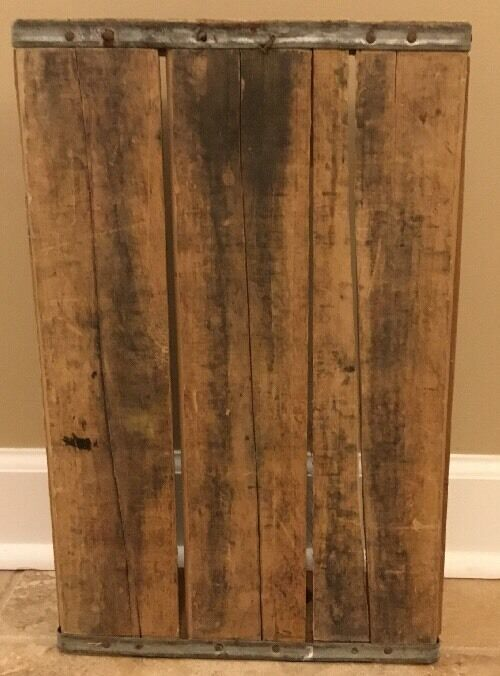 NEW NEW NEW Pottery Barn Found Soda Crate  PEPSI  82787a