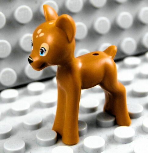 LEGO FAWN ~ Minifigure Minifig Deer Doe Forest Zoo Animal Pet   *** NEW ***
