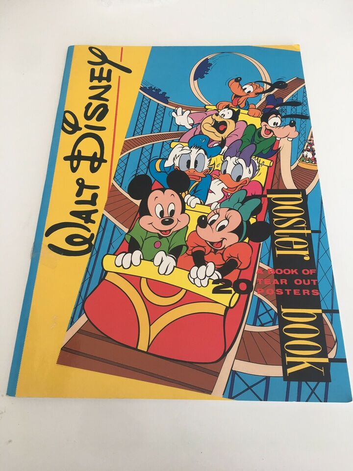 Plakater, Walt Disney poster book / Disney plakat bog