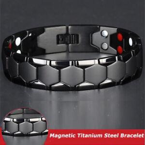 Terapia-magnetica-Bracciale-terapeutico-Braccialetto-magnetico-di-Gauss-Titanio