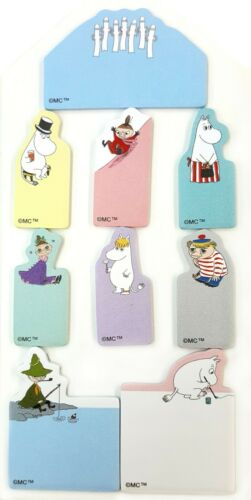 Made in Japan Moomin Characters Sun-Star Sticky Note Pad w// tracking no.
