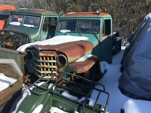 54 & 55 Willy's Jeep Pickups