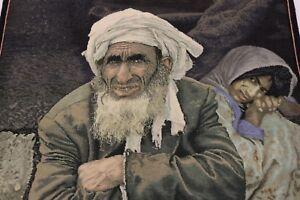Afghan-Men-Vers-USA-GUERRE-EN-AFGHANISTAN-Tapis-de-Perse-d-039-Orient-0-90-x-0-60