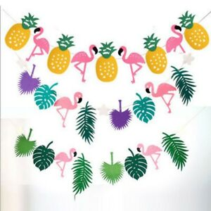 Hawaiian-Tropical-Flamingo-Pineapple-Summer-Party-Decor-Banner-Garland-Bunting