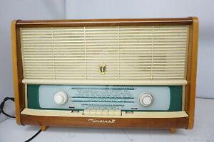 EAW-Undine-II-Super-8176EL-Roehrenradio-Retro-Vintage-Raritaet-DDR-Radio-Antik