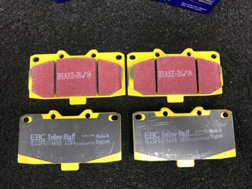 Impreza WRX Turbo GC8 Yellowstuff Plaquettes De Frein fr /& RR