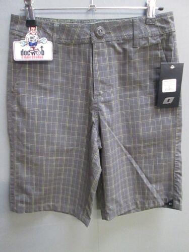 New One Industries boys casual shorts dark shadow grey mx//bmx//skate OC1000