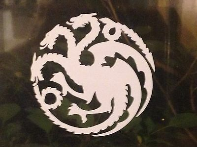 Game of Thrones decal - House Targaryen Crest Car Window bumper vinyl sticker