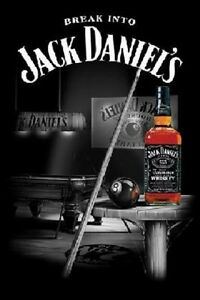 Jack Daniels Pool Table Poster EBay - Jack daniels pool table