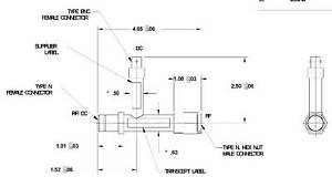 Microlab-FXR-Bias-Tee-DC-Block-1-7-2-3-GHz-Part-Number-HW-E32
