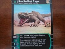 Star Wars TCG R&S Dune Sea Krayt Dragon FOIL 17/105