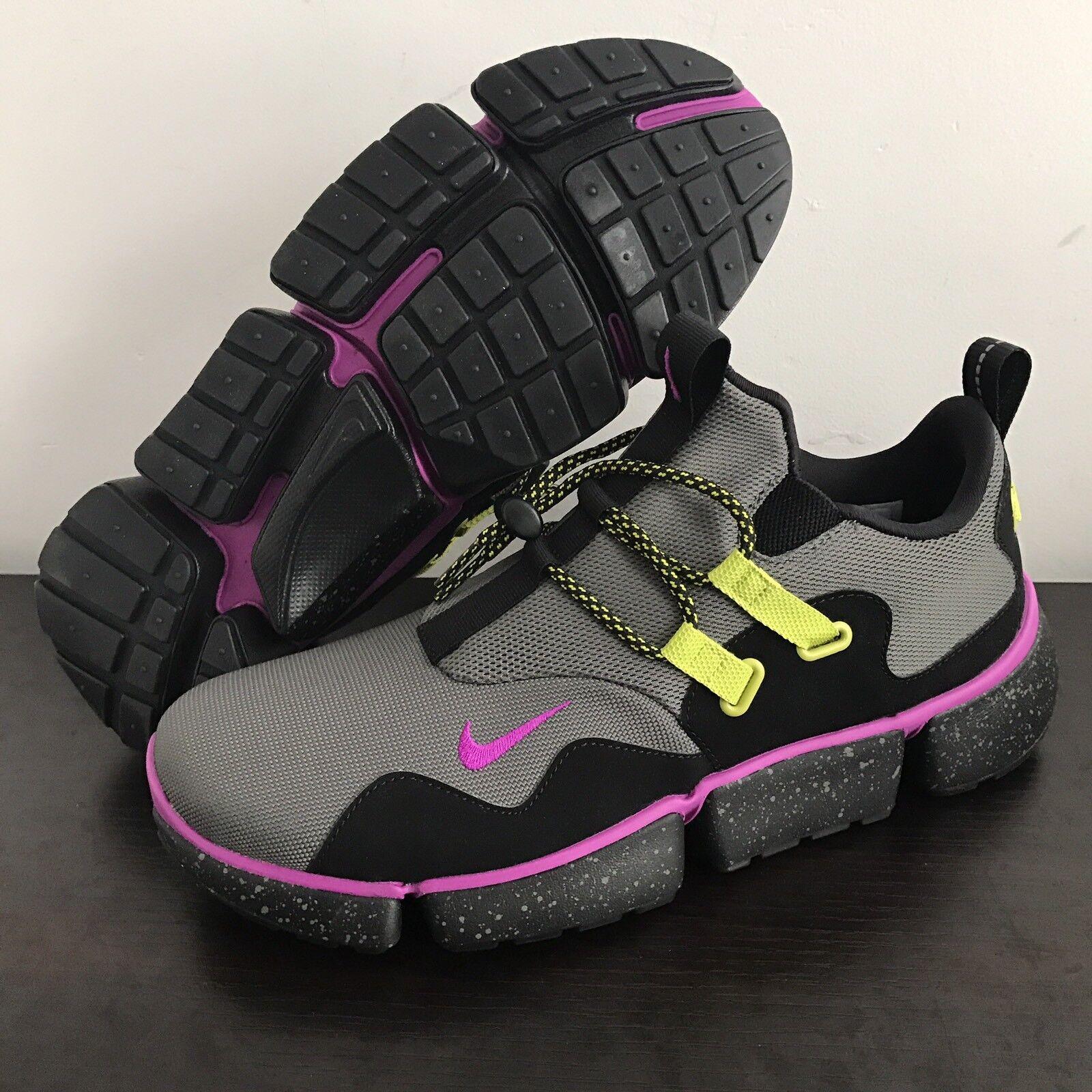 Nike Pocketknife DM SU River Rock Violet Black Hiking Trail Running Size 10.5