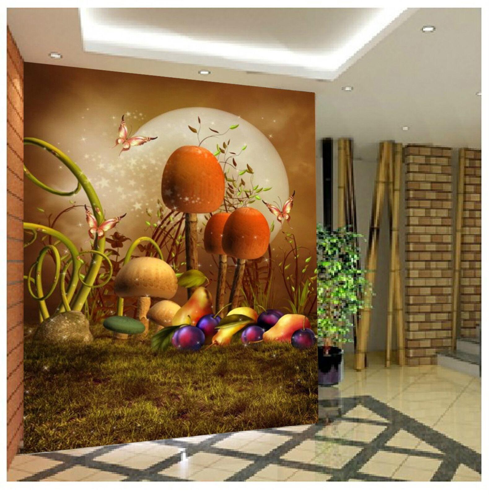 3D Der Wald 433 Fototapeten Wandbild Fototapete Bild Tapete Familie Kinder DE