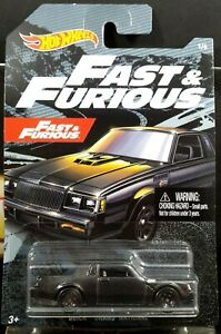 2019-Hot-Wheels-Fast-amp-and-Furious-BUICK-GRAND-NATIONAL-HTF-HARD-TO-FIND-NEW